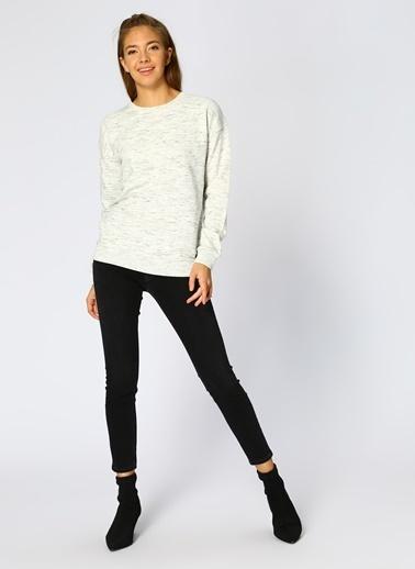Mustang Sweatshirt Beyaz